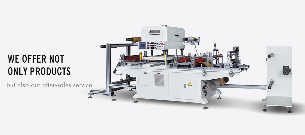 Automatic Roll to Roll Kiss Cutting Machine