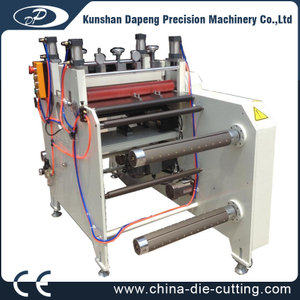 360/500/600 intermittent kiss cutting machine for paper, foam, film