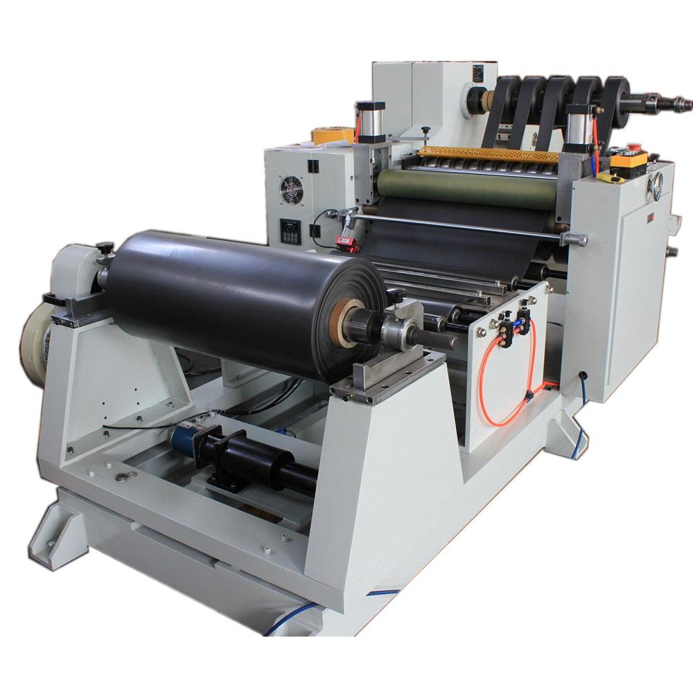 Rubber roll slitting machine (2)