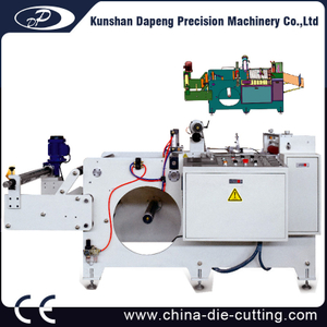 Adhesive Tape and Rigid PVC and silver foil Lamination Cutting Machine
