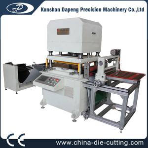 automatic Roll to sheet hydraulic die cutting machine