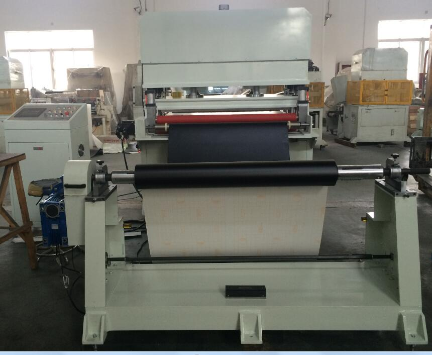 Automobile foam hydraulic type large size die cutting machine