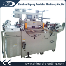 Automatic Label Sticker Paper Roll Die Cutter Machinery