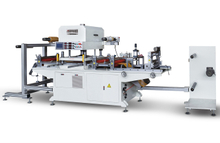 paper Flat Bed Die Cutting Systems kiss cutting machine